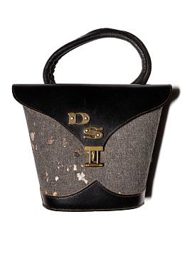 Lillian Vernon monogrammed purse, 1960s