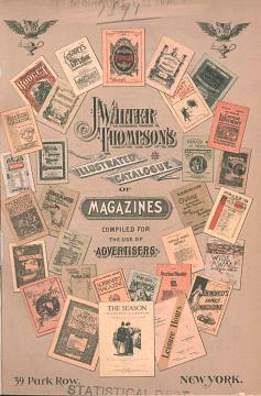 J. Walter Thompson Illustrated Catalog of Magazines, 1891