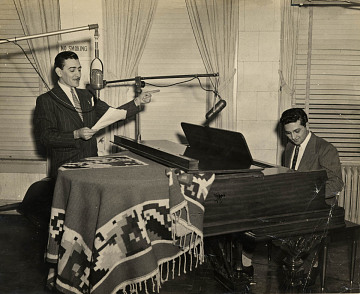 Raul L. Rodriguez (standing) and Raoul Cortez, Jr.