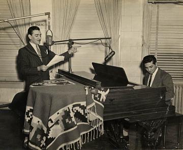 "Renowned Entertainer Leonardo ""Lalo"" Garcia Astol, 1950s"