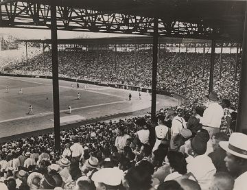 Negro Leagues baseball game, 1953