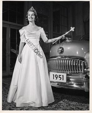 Yolande Betbeze, Miss America, 1951
