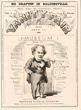 P.T. Barnum, 1862