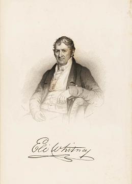 Eli Whitney, 1765–1825