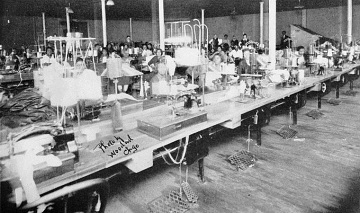 Garment workers in Chicago, 1922