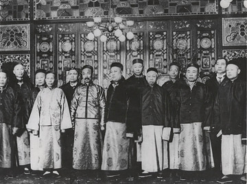 Officers of the Chinese Six Companies, undated