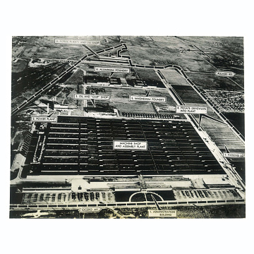 South Chicago, Illinois, B-29 engine plant, about 1945