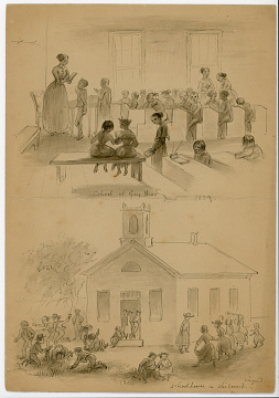 School, Gay Head, Massachusetts, 1859