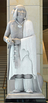 Statue of Po'pay