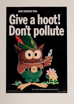 Public service poster, 1971