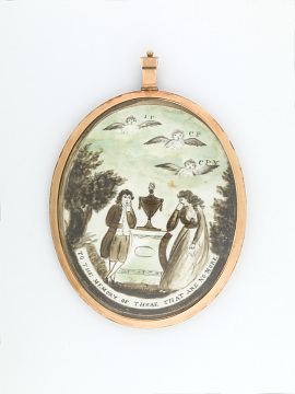 Mourning Jewelry, 1790–1810