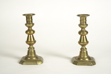 Candlesticks, Early 19th Century