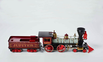 Model of Central Pacific Railroad locomotive Jupiter