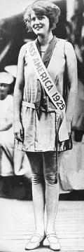 Fay Lanphier, Miss America, 1925