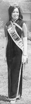 Pamela Fong, Miss Chinatown USA, 1974