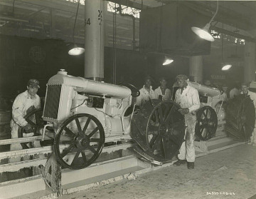 Fordson assembly line, 1923