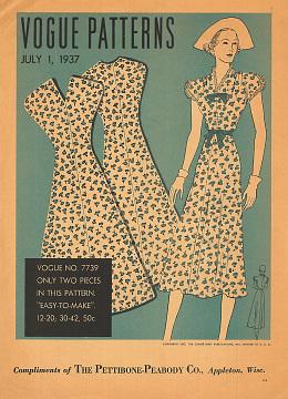 Vogue Patterns, 1937