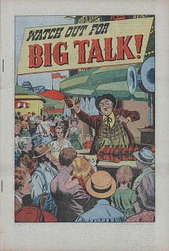 Anti-union comic book, 1950