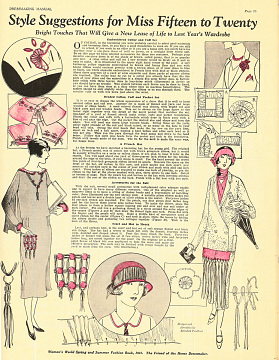 Woman's World Dressmaking Manual