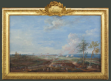 The Siege of Yorktown by Louis-Nicolas van Blarenberghe, 1786