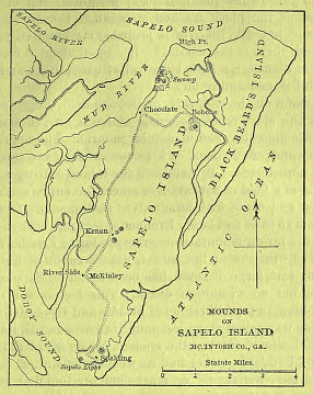 Image of Sapelo Island Map, 1846