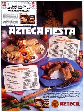 Azteca Fiesta Ad, 1991