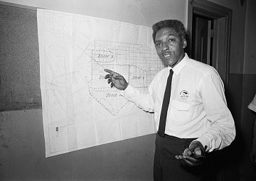 Bayard Rustin, Deputy Director and Organizer of the March on Washington for Jobs and Freedom
