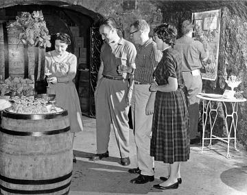 Buena Vista tasting room, 1959