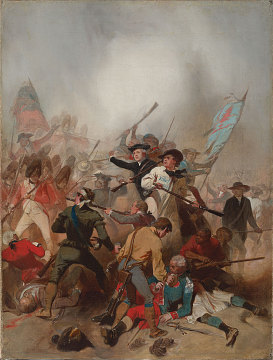 Battle of Bunker Hill, by Alonzo Chappel, 1859