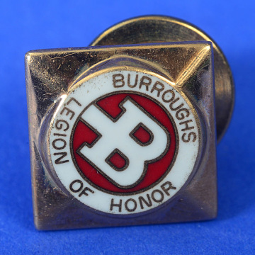 Sherman Naidorf's Legion of Honor sales award, Burroughs Corporation, 1950s