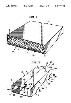 Patent drawing, about 1991