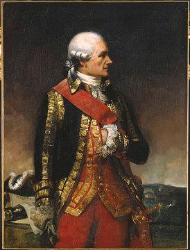 The Comte de Rochambeau, 1792