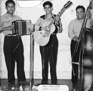Conjunto Felix Borrayo at KCOR, 1948