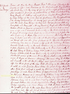 Deed, March 10, 1769