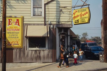 E & A Soul Food Restaurant exterior, Patterson New Jersey