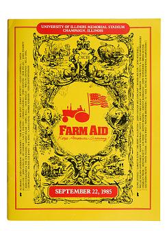 Farm Aid Program, 1985