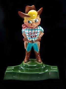Frito Kid ashtray, around 1952