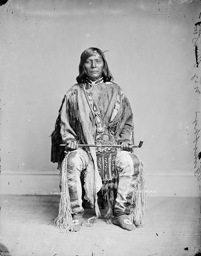 Chief Tamason, who had converted to Christianity, was a delegate to Washington, D.C., for the Nez Perce, around 1880s