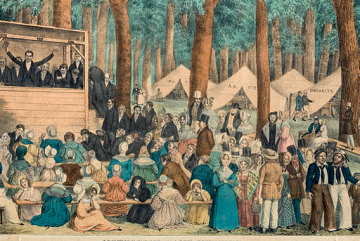 Methodist Camp Meeting, 1836