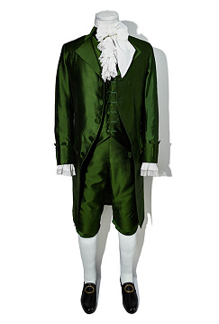 Costume worn by Lin-Manuel Miranda playing Alexander Hamilton, Around 2015