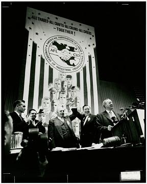 AFL-CIO merger, 1955