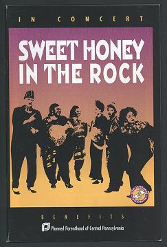 Sweet Honey in the Rock Program, 1995