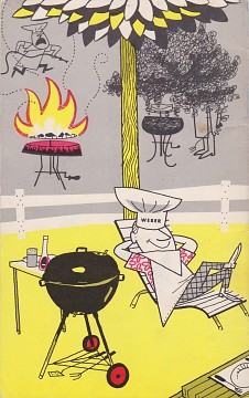 Barbecuing the Weber Covered Way, 1972 (back cover)