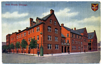 Hull House, established in 1889