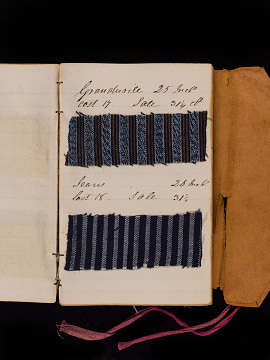 Image of sample book page, 1834