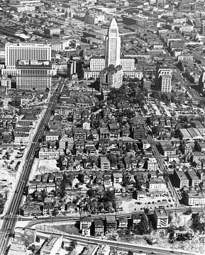 Aerial image of Los Angeles