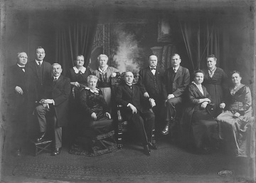 Bohemian Old Settlers Association, around 1915