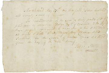 Lease, 1777