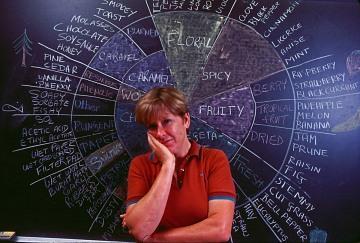 Scientist Ann C. Noble, 1985