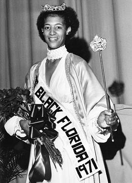 Joyce Warner, Miss Black Florida, 1971